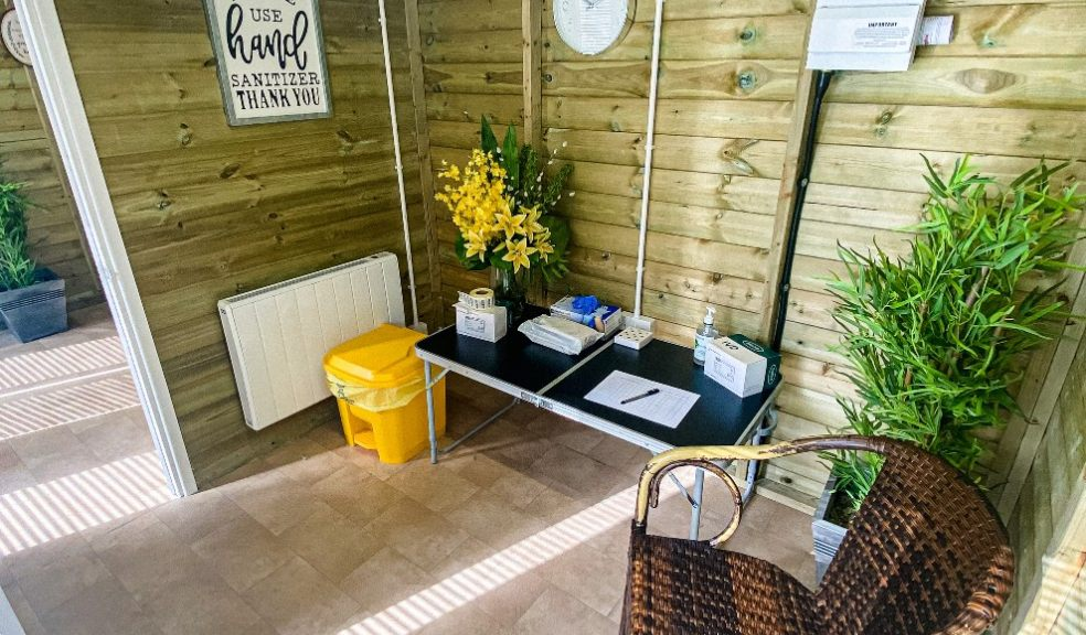 New summer house for Exeter care home visitors