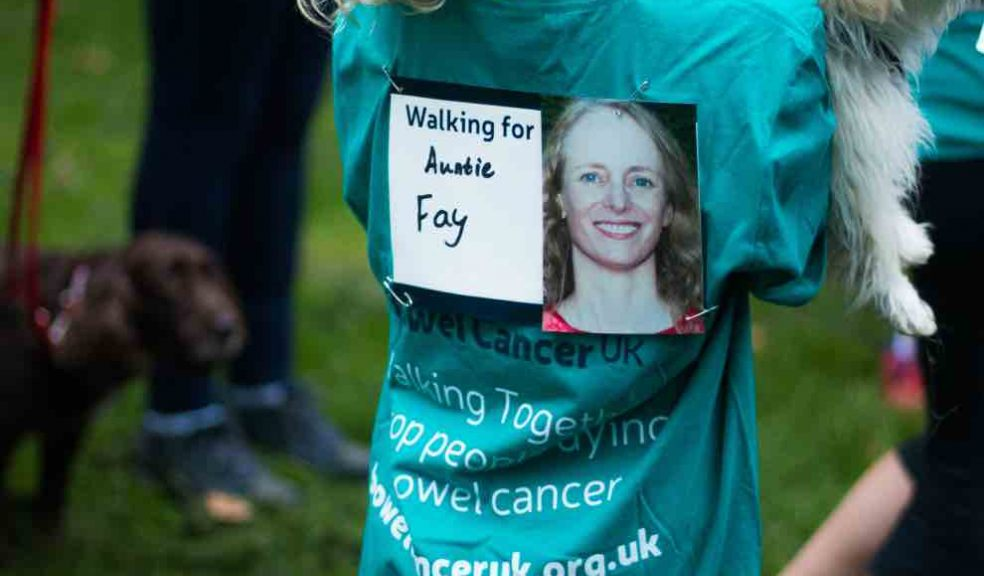 Celebrities Back Walk Together To Stop People Dying Of Bowel Cancer The Exeter Daily