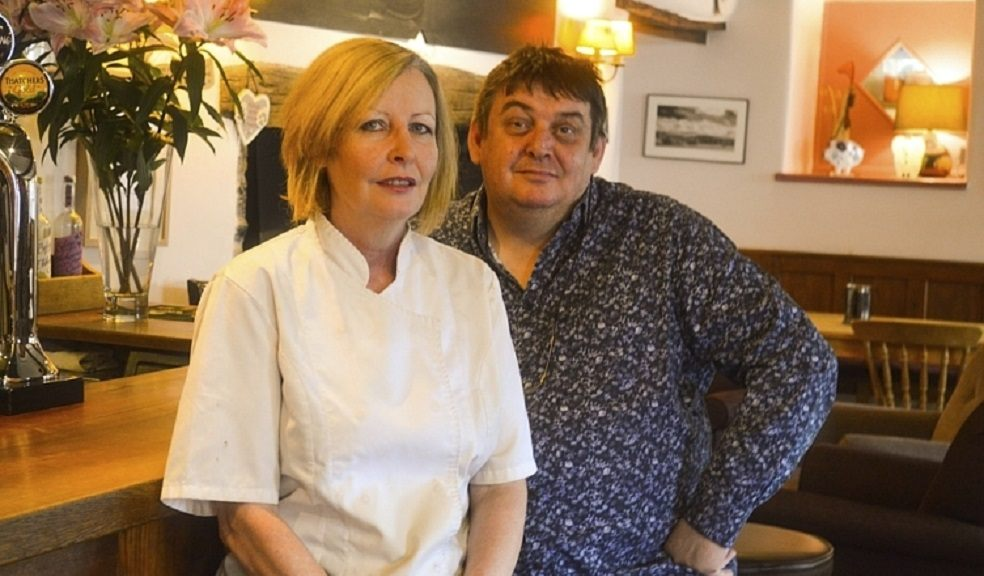 Paul and Donna Berry, Owners of The Swan and Spelt, which are both taking part in the Government's Eat Out to Help Out scheme.