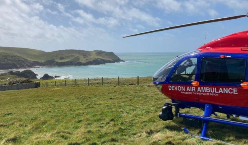 Devon Air Ambulance seeks to raise £10Kinjust3days