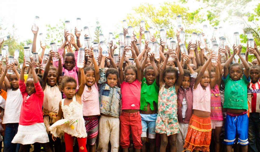 Some of the children who have already benefitted from Project Tatirano