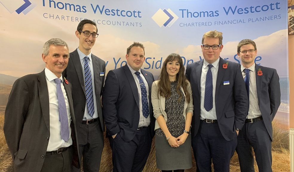 Steve Cresswell (left) with other members of the Thomas Westcott Charities and Not for Profit team