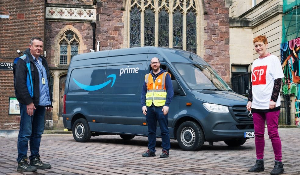 St Petrocks in Exeter welcomes support from Amazon