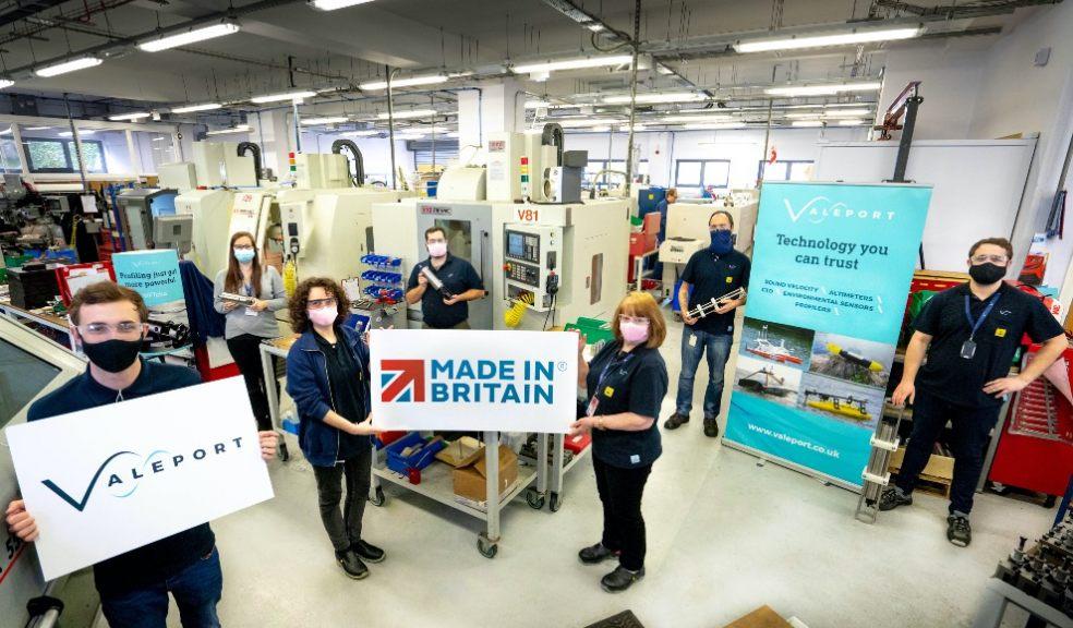 Valeport achieves Made In Britain status
