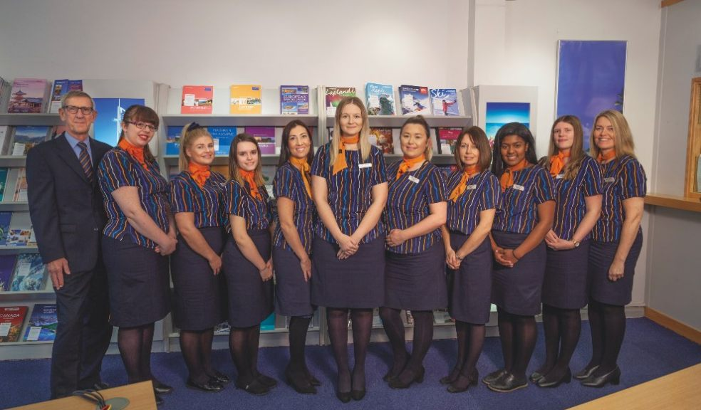 Staff at Hayes Travel branch in St Thomas, Exeter