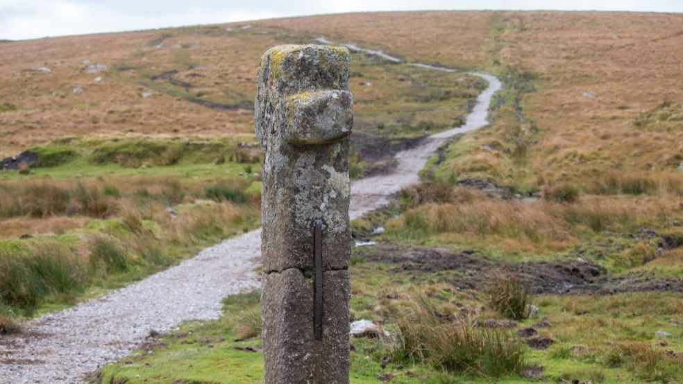 Popular moorland path gets £20,000 funding boost. Photo courtesy of Dartmoor National Park.