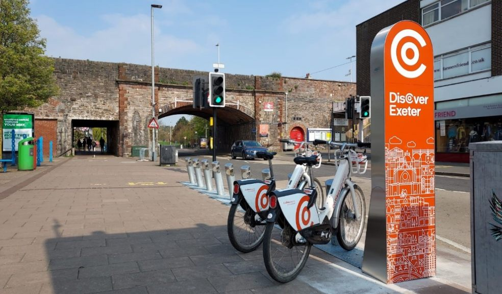 Co Bikes open new electric bike station in St Thomas, Exeter