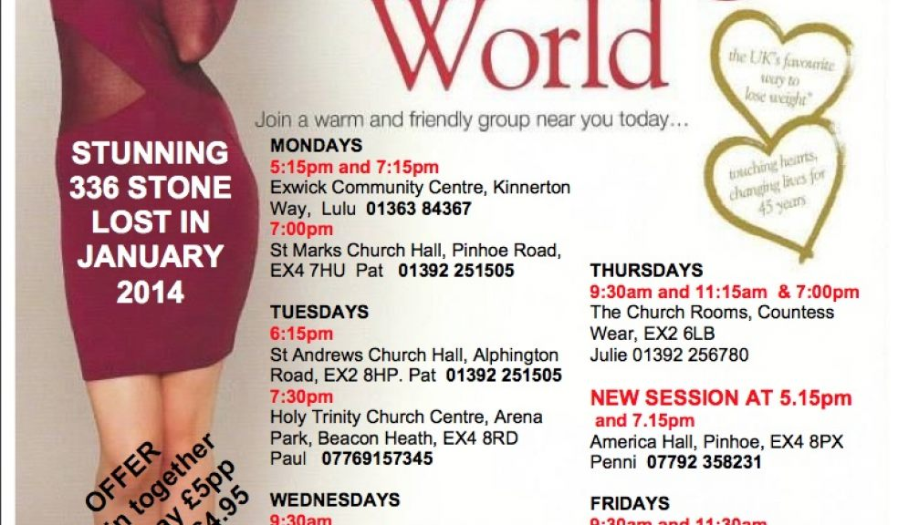 Slim for Good with Slimming World | The Exeter Daily