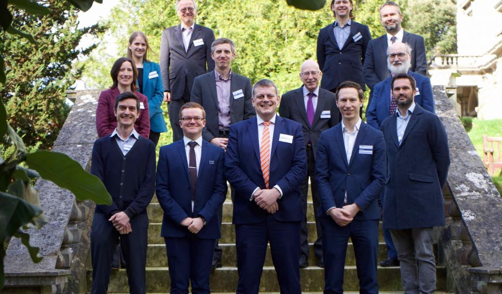 Chris Rice – Principal Transport Planner (WSP) / Chris Shipway – Vice Chair CIHT (SW) / Martin Tugwell – President – CIHT / Nik Bowyer – Chair CIHT (SW) with speakers from CIHT (SW) Annual conference 2020 at Reed Hall, University of Exeter