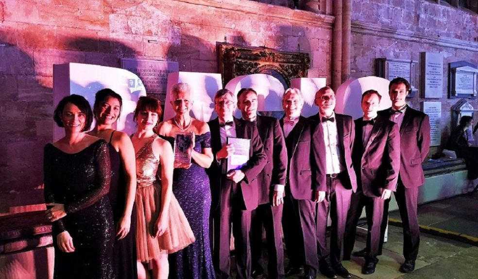 Gilbert Stephens at the Devon and Somerset Law Society Legal Awards 2019