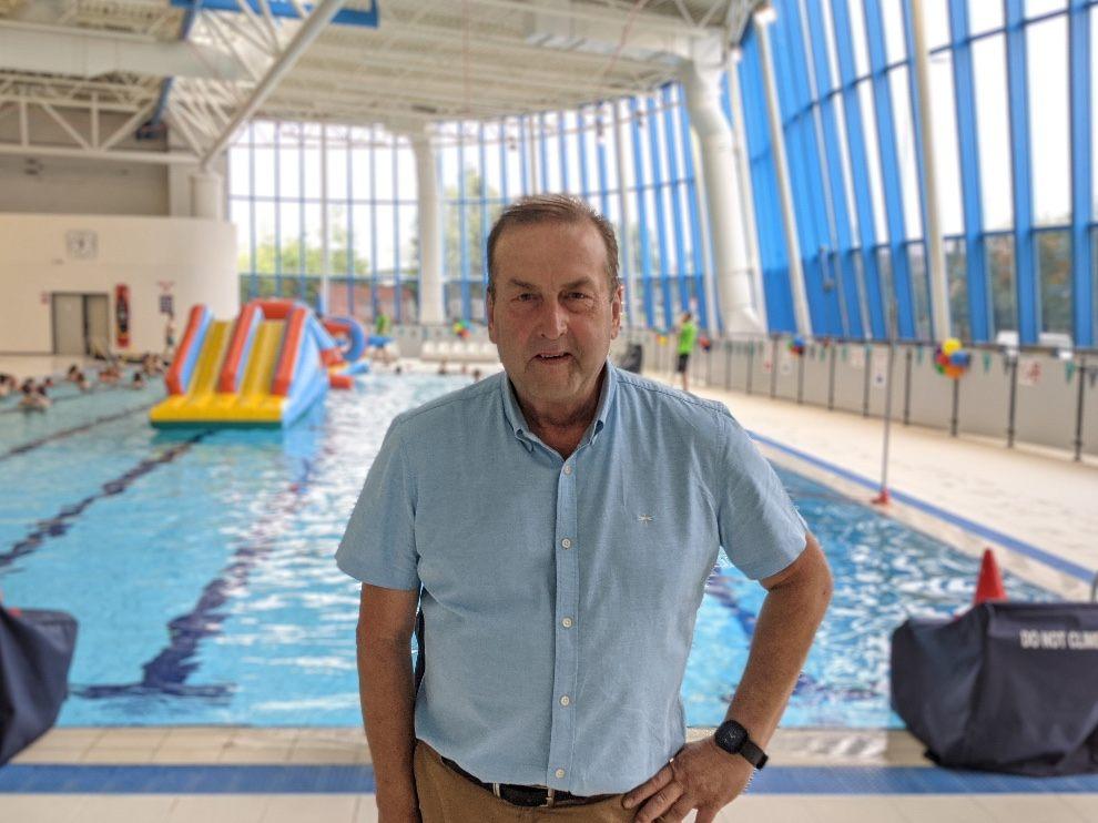 Exeter, swimming, pool, riverside