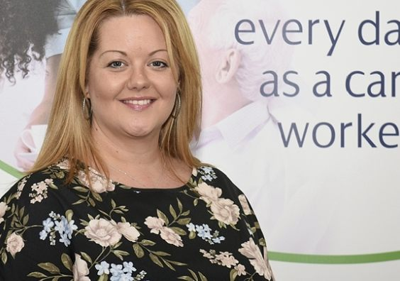 Guardian Homecare Manager, Catherine Porter.