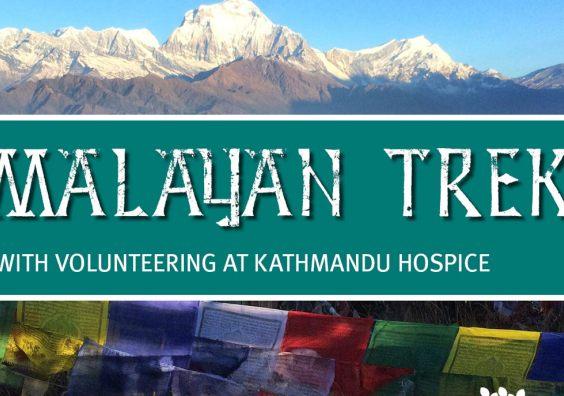 Himalayan Trek with volunteering at Kathmandu Hospice