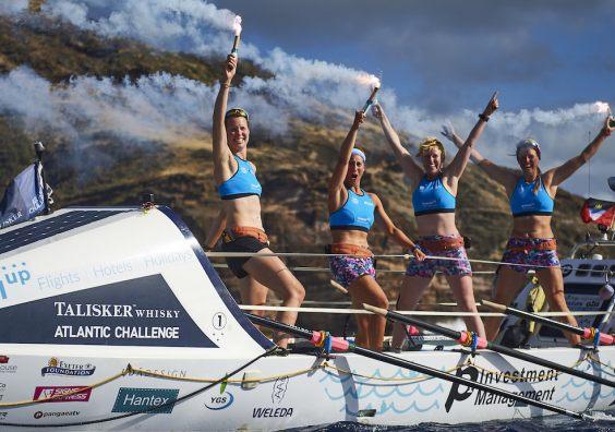 Row for the Ocean finish Atlantic Challenge (Photo, Ben Duffy)