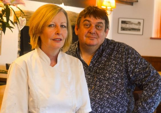 Paul and Donna Berry of the award-winning Swan in Bampton