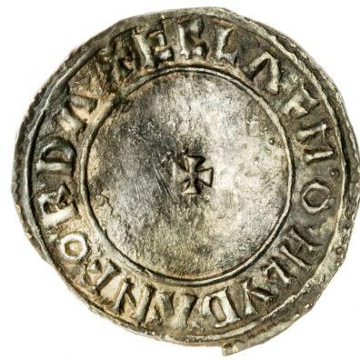 King Aethelstan (924-939) Silver Penny, struck at Lydford by Ecglaf
