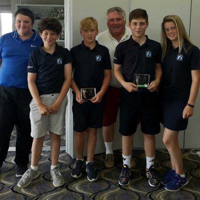 Junior team at Enmore Golf club