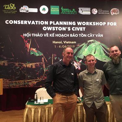 Trust strengthens international conservation links