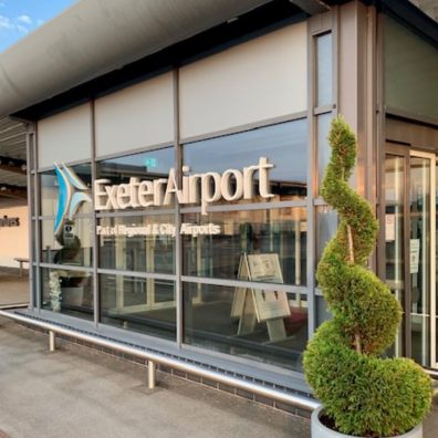 Escape to the sun with Exeter Airport in 2021-22