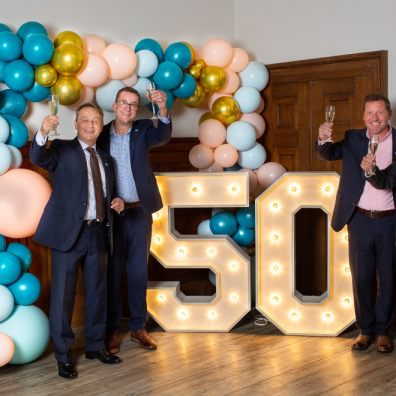 50th, birthday, celebrations, anniversary, business
