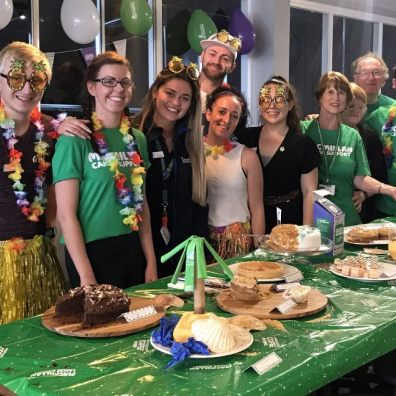 Flour festival: members of Beverley's charity team prepare to ready, steady, bake for a very worthwhile cause