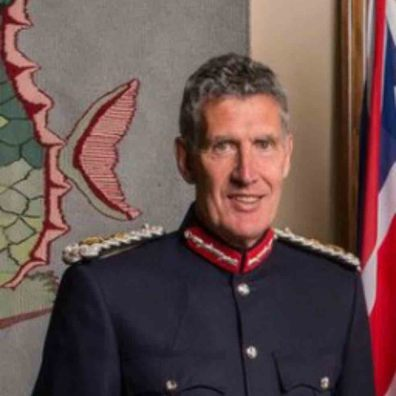 M Lord-Lieutenant of Devon, David Fursdon