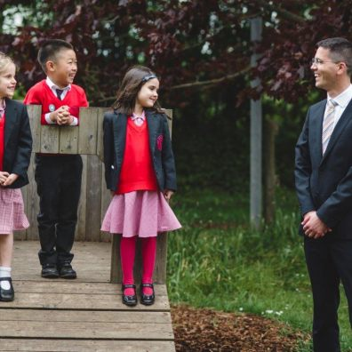 The New School welcomes new head into the community