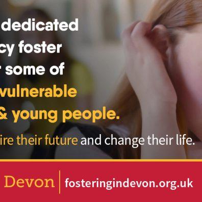 Emergency foster carers needed for Devon's most vulnerable children