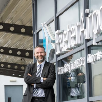 Exeter Airport Managing Director Matt Roach
