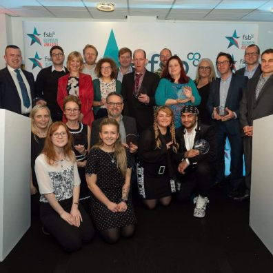 Winners all...the FSB South West award winners from earlier this year. Could your firm be on the rostrum next year?