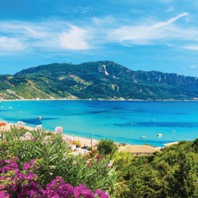 Exeter Airport destination, Corfu