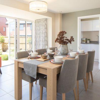 David Wilson Homes dining room