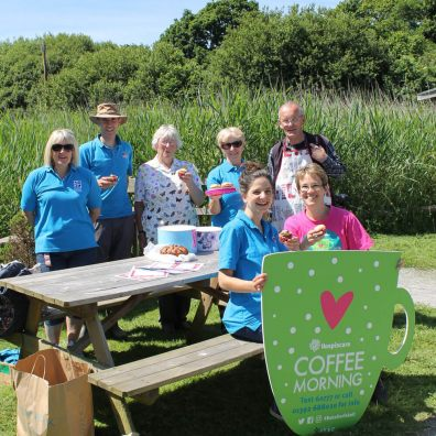 Hospiscare Coffee Morning at Seaton Wetlands