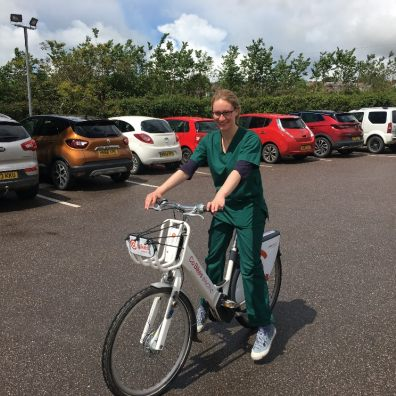 NHS Doctors get on their bikes for home visits thanks to Co Bikes