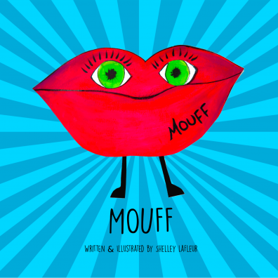 Front cover of Mouff, the book to encourage better dental health