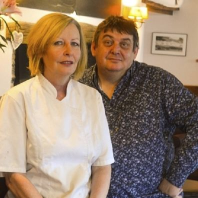 Paul and Donna Berry, Owners of The Swan, which is taking part in the Government's Eat Out to Help Out scheme.