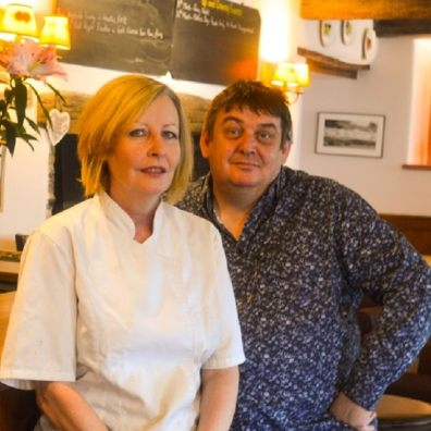 Paul and Donna Berry of the award-winning Swan in Bampton.