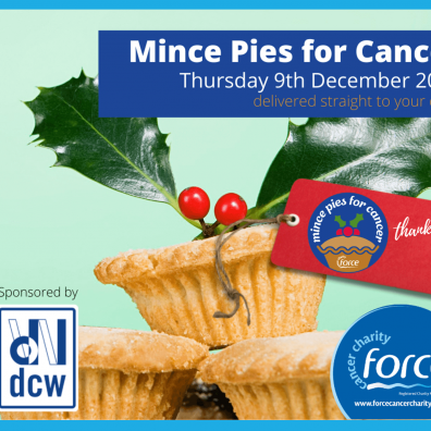 Mince Pies for Cancer FORCE fundraising event