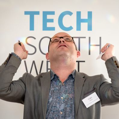 Toby Parkins, chair of Tech South West