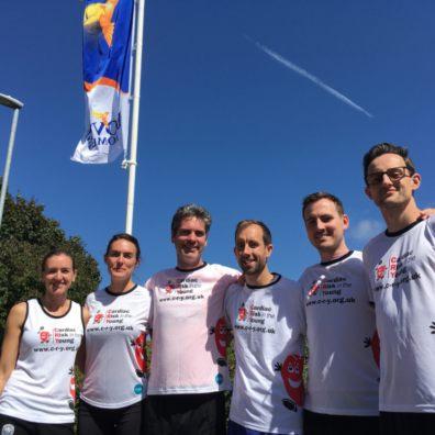 Bovis Homes colleagues training for Cardiff Half Marathon