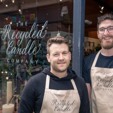 Richard Hills-Ingyon (left) and business partnerSargonLatching