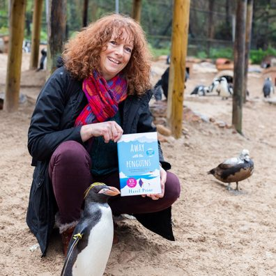 Torquay penguins inspire novel