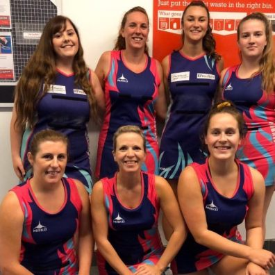 West Devon Premier B Netball Team