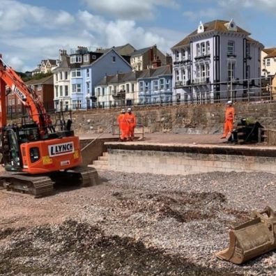 Work set to restart on new sea wall at Dawlish which will help protect vital rail artery to the south west for next 100 years