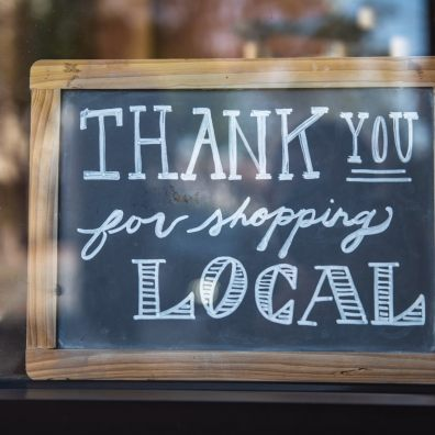 shop local, Exeter